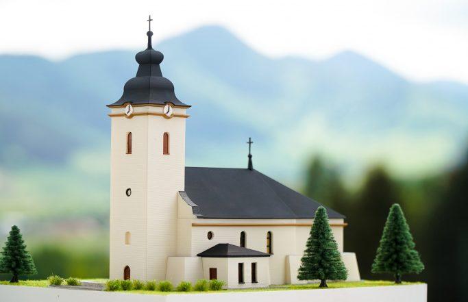 Maketa kostol Kolackov